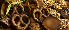 Special Assortments of hand-made chocolates and other sweets