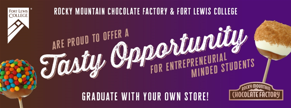 Rocky Mountain Chocolate Factory and Fort Lewis College are teaming up for a sweet franchise opportunity!