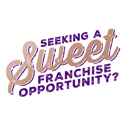 Franchise opportunity selling gourmet apples, assorted chocolates, handmade fudge, pretzels, cookies and much more