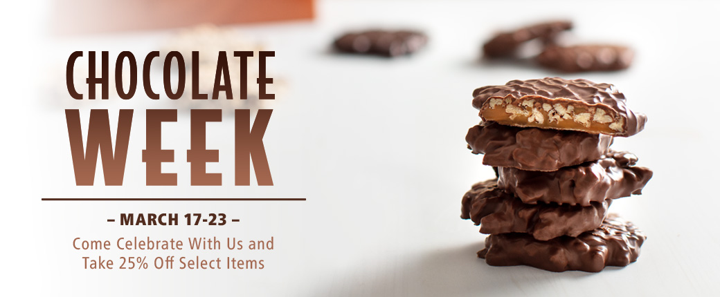 Get 25% off some of your favorite Chocolates, Assorted Chocolates, Gift Baskets, and much more