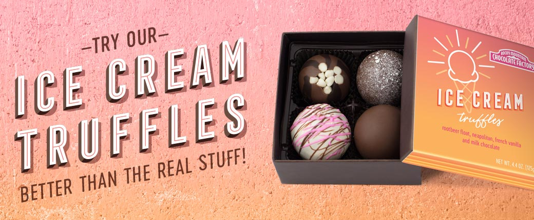 Check out our new Ice Cream Truffle Collection!