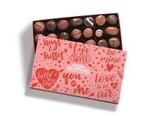 Gourmet Soft Center Gift Box with Valentine Sleeve
