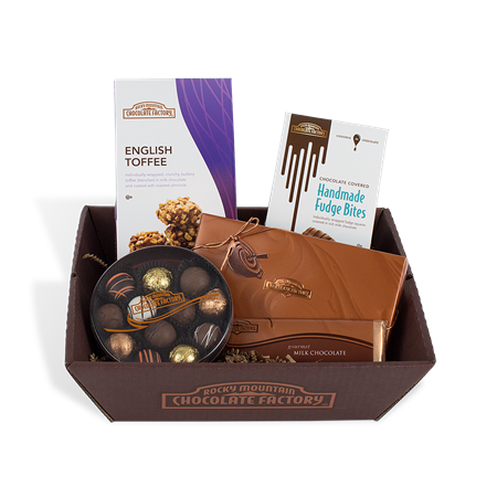 Rocky mountain chocolate factory favorites basket chocolate favorites gift baskets negle Image collections