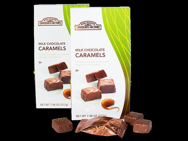 Bite-Sized Milk Chocolate Caramels