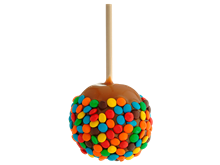 Caramel Apple featuring M&M's® Candies