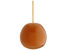 Plain Caramel Apple