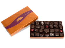 Assorted Dark Chocolates Gift Box 14.5 oz.