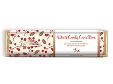 Holiday White Candy Cane Bar 4 Pack