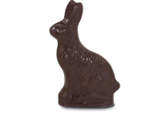 6 oz. Dark Chocolate Bunny