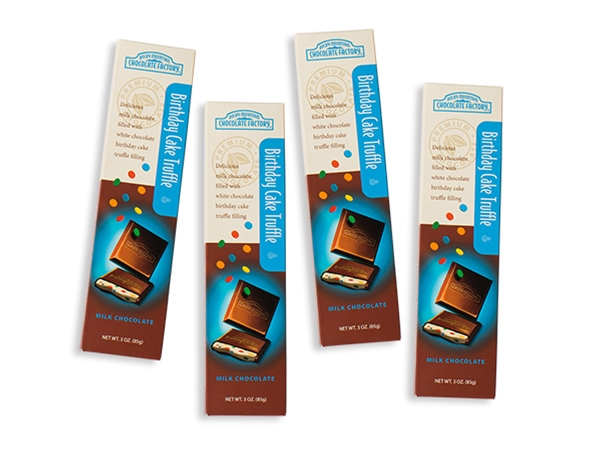 Birthday Cake Truffle Chocolate Bars