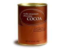 Rocky Mountain Chocolate Cocoa Tin