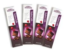 Gourmet Raspberry Truffle Filled Chocolate Bars