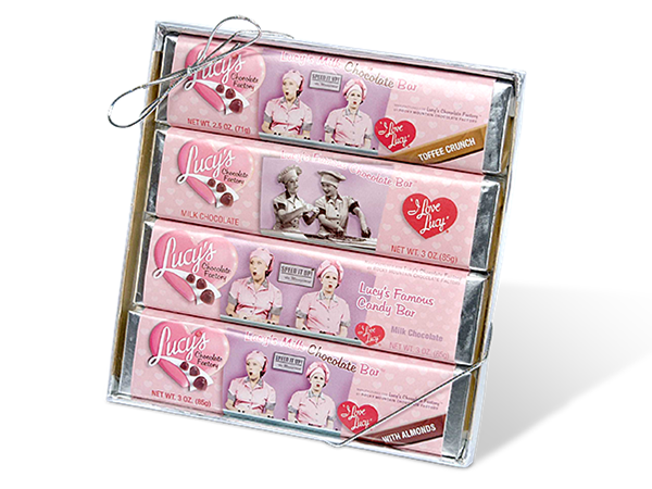 Lucy's Assorted Candy Bar 4-Pack