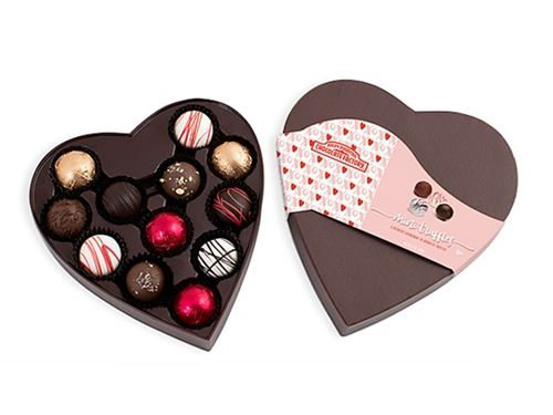 Valentine Mini Truffle Heart Box