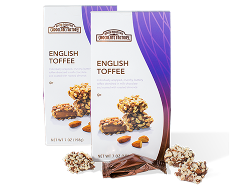 Bite-Sized English Toffees