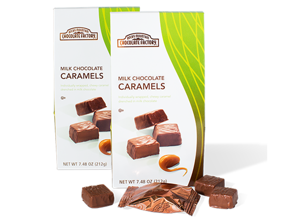 Bite-Sized Milk Chocolate Caramels