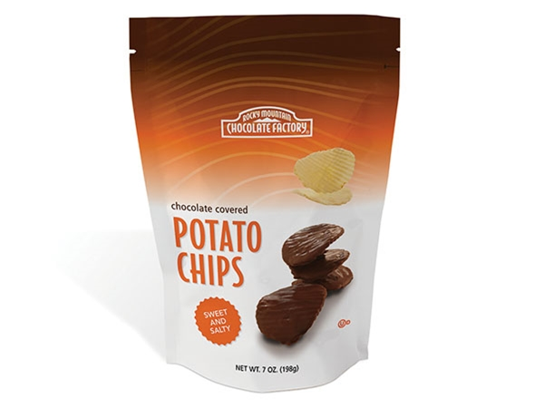 Chocolate Dipped Potato Chips 2 Pack
