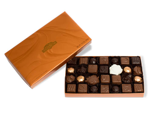 Mother's Day Nut and Caramel Chocolates Gift Box 15.5 oz