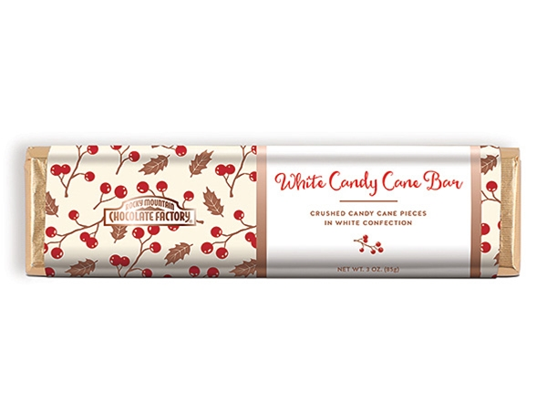 Holiday White Candy Cane Bar