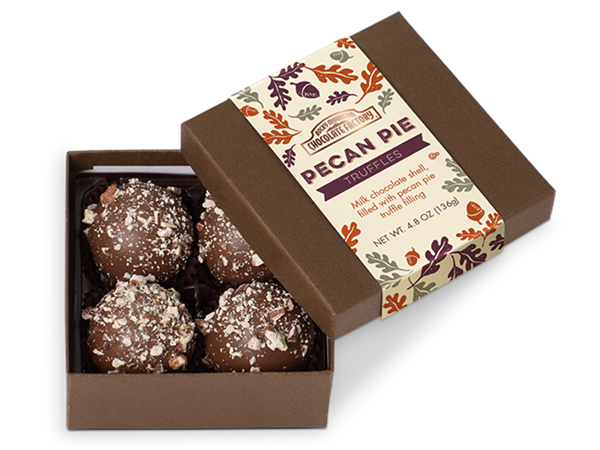 Fall Pecan Pie Truffle Box