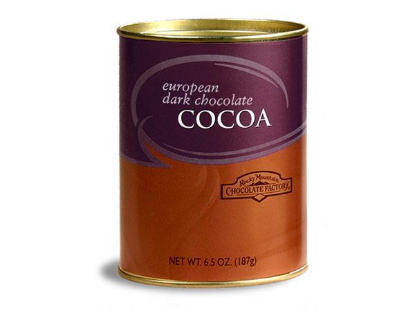 European Dark Chocolate Cocoa Tin