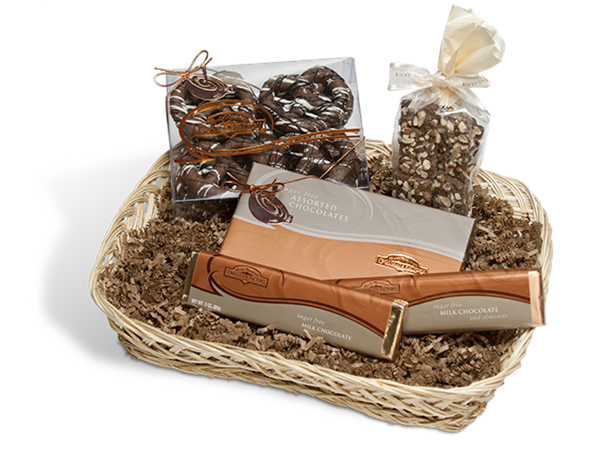 Sugar Free Chocolate Delights Gift Baskets