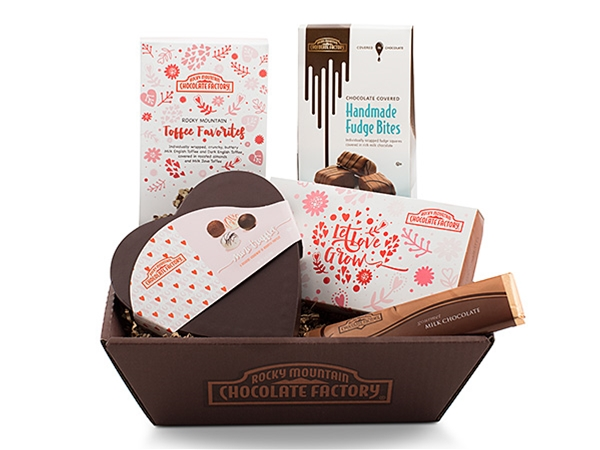Valentine Favorites Chocolate Gift Baskets