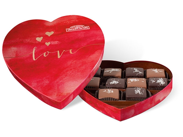 Signature Sea Salt Caramel Heart Box