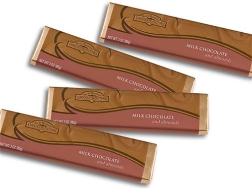Gourmet Milk Chocolate Bar with Almonds